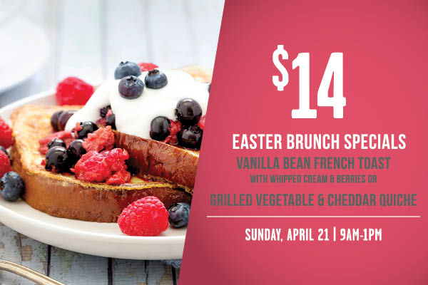 The Well Easter Brunch Special 04.21. 2019
